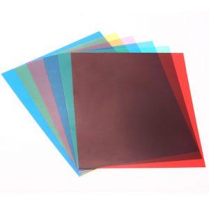 Lighting Color Correction Gel Sheets Filters