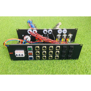 SPE Patch panel XLR 6 in 6 out