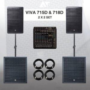 SET VIVA 715D 718D SYSTEM