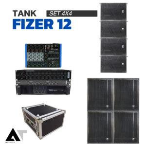 TANK FIZER 12 SET 4X4